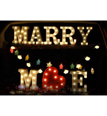 Marry Me LED Light up...