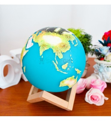 3D Earth LED Night Lamp...