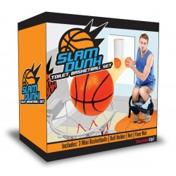 Mini Slam Dunk Toilet Basketball