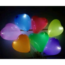 Love Shape LED Balloon