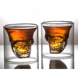 Skull Double Layer Glass