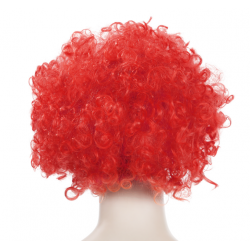 Red Clown Hair