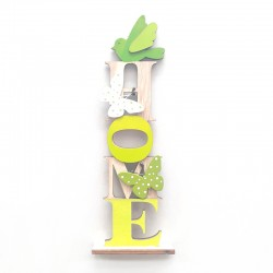 Home flora decor standing board