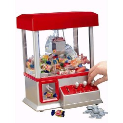 Mini Electronic Arcade Toy Candy Claw Crane