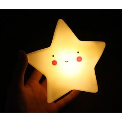 Cute LED Star Baby Night Lamp