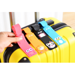 Cute Animal Cartoon Luggage Tag