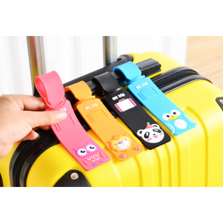 Cute Animal Cartoon Luggage Tag| Super Gift Online Gift Store Malaysia