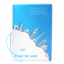 Unique traveler passport holder passport protector