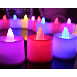 Flicker Flameless LED candle light tea light