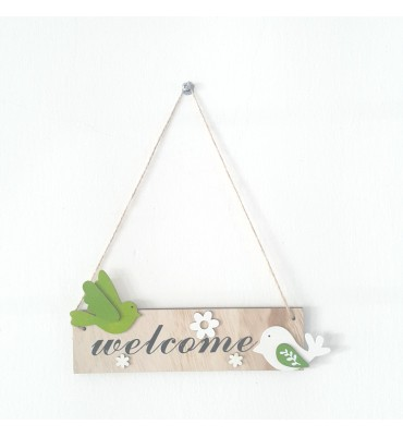 Home Welcome Decor Wooden...