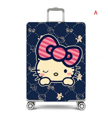 Cartoon Elastic luggage...