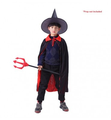 Kids Halloween Black Witch...