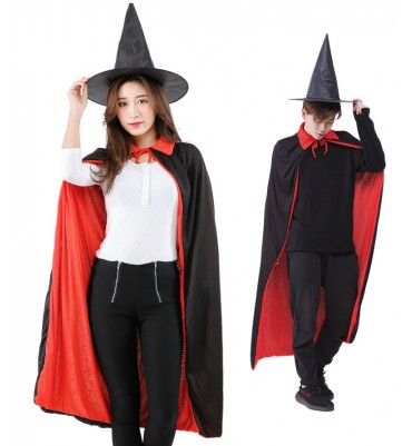 Adult Halloween Black Witch Costume
